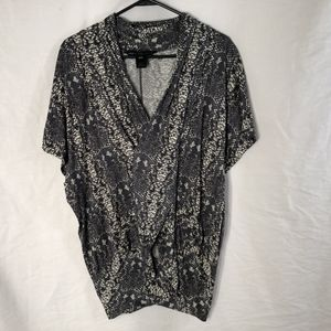 Marc by Marc Jacobs XS Small Serpent Blouse 777
